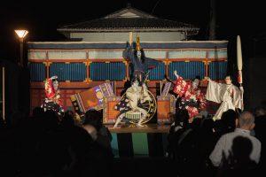 山五十川歌舞伎-舞台