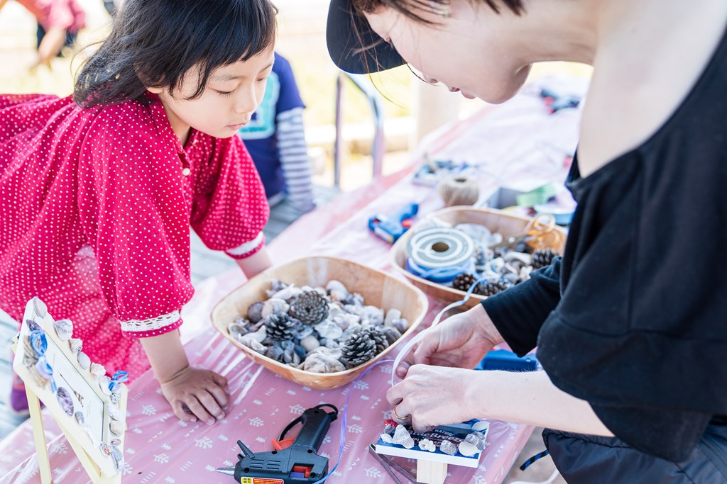 貝殻クラフト-作る