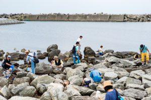 磯ガニ釣り-風景