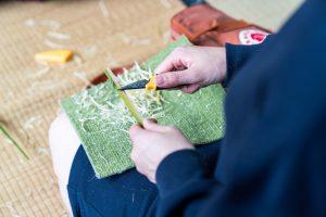 カラ竹My箸-体験の様子