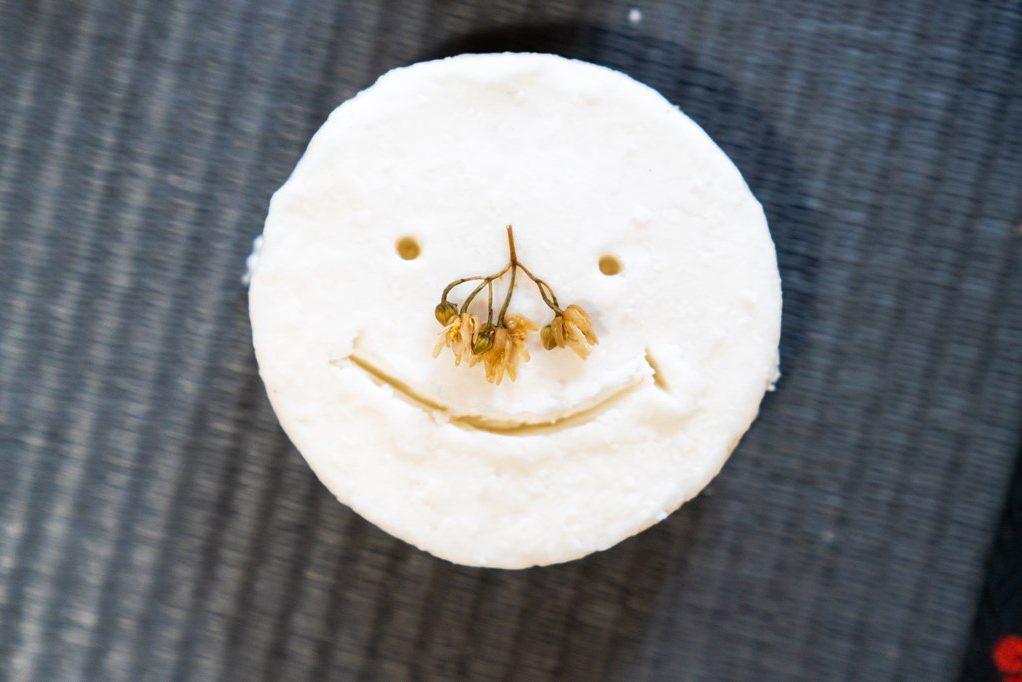 シナの花石鹸-完成品